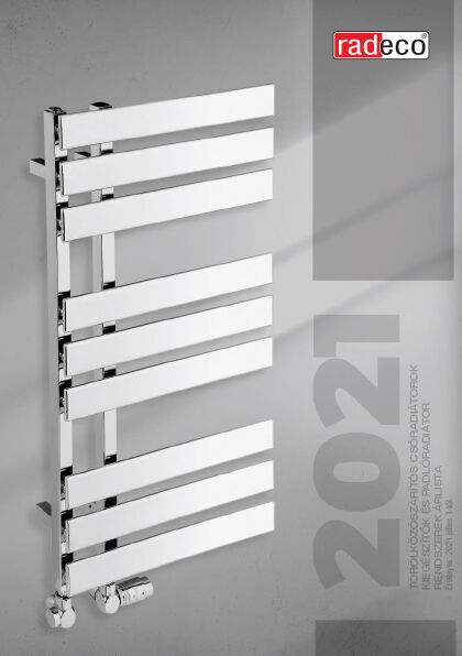 RADECO árlista, termékkatalógus 2021.