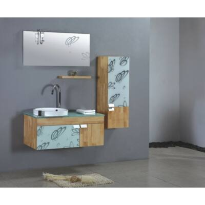 FREEBLUE Alta fürdőszobabútor szett BARNA