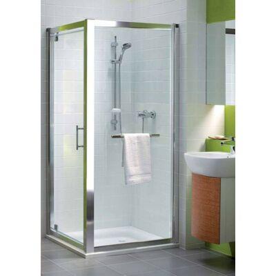 KOLO GEO-6 zuhanykabin szárnyas, pivot ajtó, 80 cm + KOLO GEO-6 zuhanykabin fix oldalfal, 80 cm