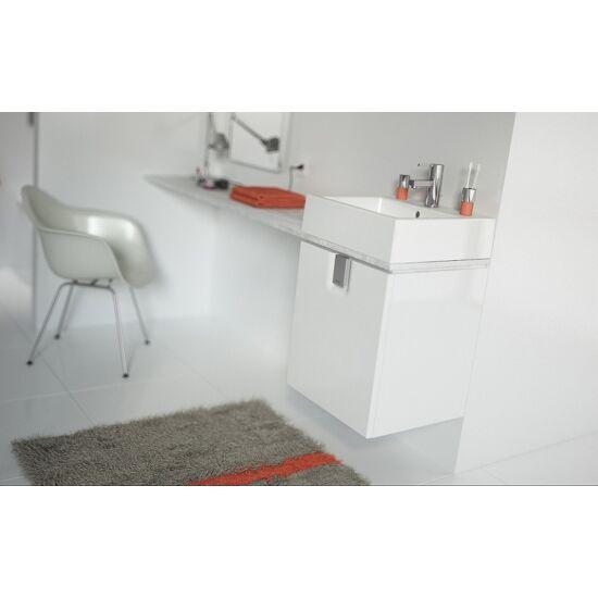 KOLO Twins 50 cm-es mosdószekrény ajtóval, falra rögzíthető 50x57x46 cm, magasfényű fehér