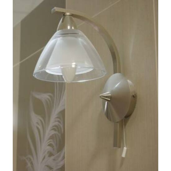 BRILLANTE fali lámpa, zsinór kapcsolóval