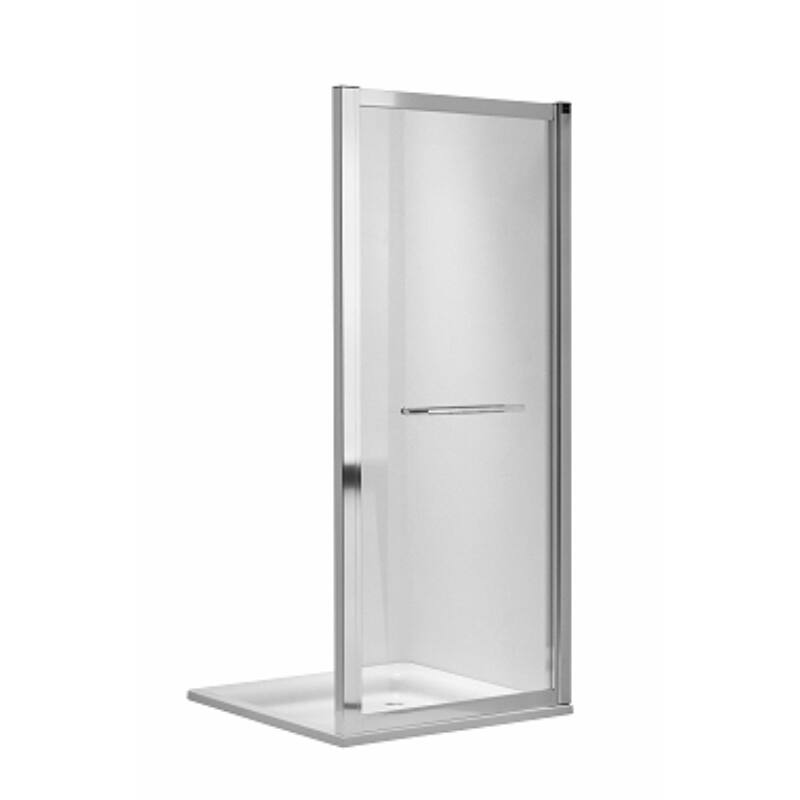 KOLO Geo-6 zuhanykabin fix oldalfal, 80cm-es, GSKS80222003