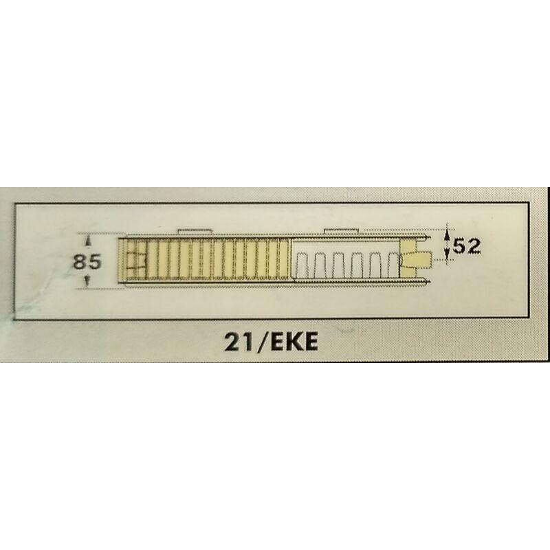RADEL RADIÁTOR 21/EKE 600-900 1249W SZELEPES