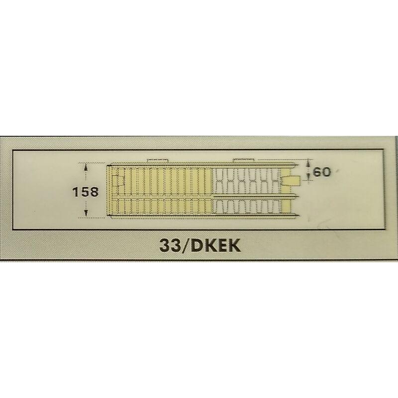 RADEL RADIÁTOR 33/DKEK 300-1800 SZELEPES