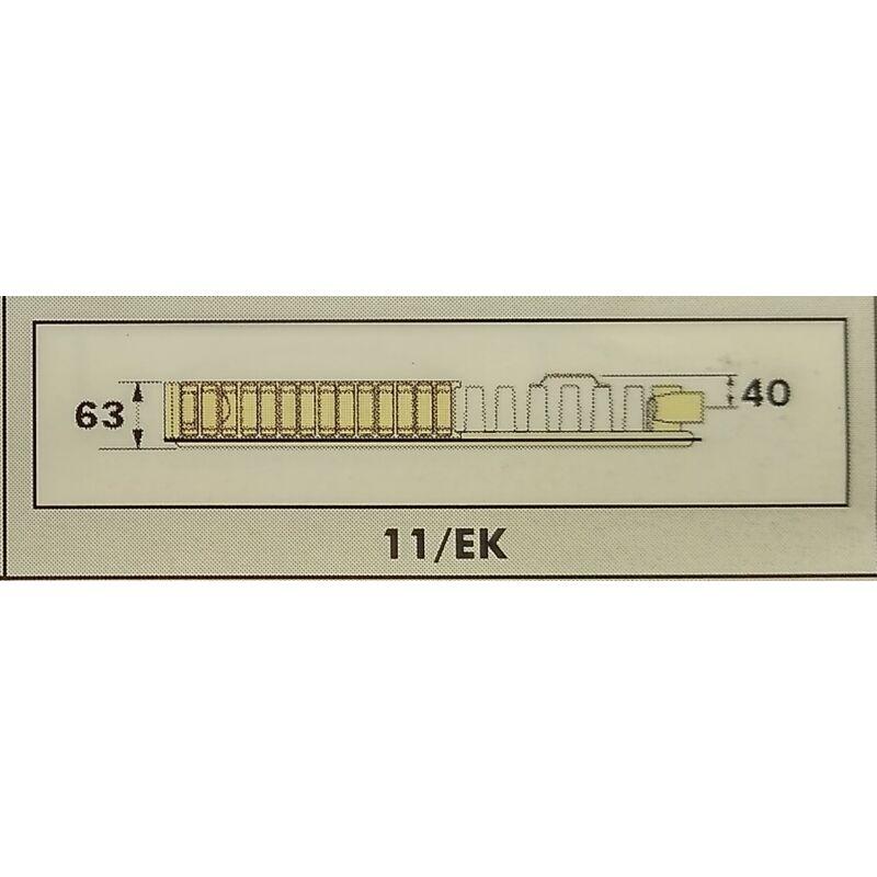 RADEL RADIÁTOR 11/EK 600-700 682W SZELEPES
